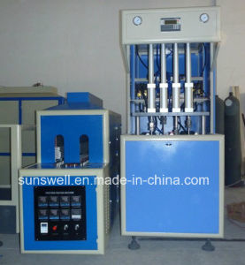 Full Automatic 2 Cavity Plastic Pet Blow Molding Machine pictures & photos