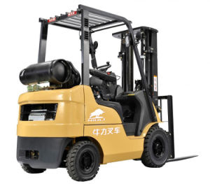 3000kg LPG Forklift with Japanese K25 Engine pictures & photos