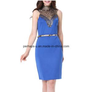 High Quality Sexy Dress Sleeveless Slim Women Wear Ladies Dress pictures & photos