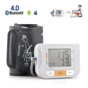 Bluetooth Fully Automatic Upper Arm Digital Blood Pressure Monitor with Home Medical Sphygmomanometer Ios & Android pictures & photos