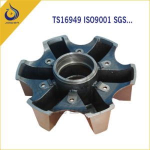 Iron Casting Wheel Hub for Truck Tractor Trailer pictures & photos