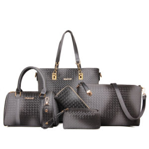 Sell Well Set Leather Bag 6PCS Fashionable Designer Handbag (XM0129) pictures & photos
