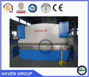 Hydraulic sheet /Plate bending machine with E200 control system pictures & photos