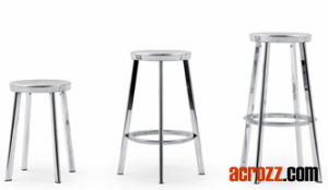 Magis Stainless Steel Chrome Banquet Deja Vu Bar Stool pictures & photos
