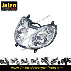 Motorcycle Parts Motorcycle Head Lamp / Head Light for Gy6-150 pictures & photos