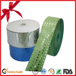 Colored Gift Wrap Red Ribbon Spool pictures & photos