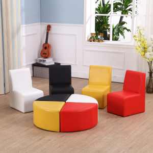 Home Sofa Set - Kids Furniture Chair with Ottoman pictures & photos