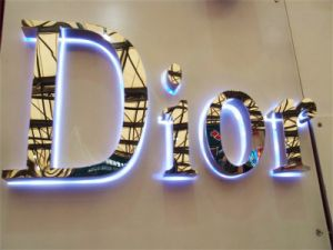 business Advertising Backlit Halolit Reverse Mirror Polished Stainless Steel LED Illuminated Channel Letters pictures & photos