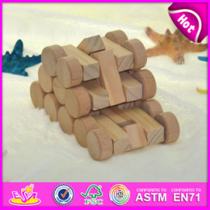 2015 New Kids Intelligent DIY Model Car Toy, Eco-Friendly DIY Assembly Car Toys, Cheap Mini DIY Wooden Car Toy Wholesale W03b027 pictures & photos