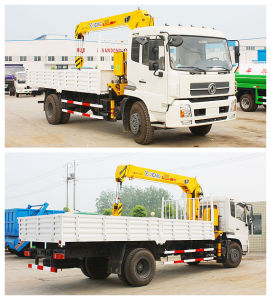 High Performance 5ton Hydraulic Trcuk Mounted Crane pictures & photos