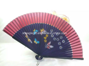 Vintage Chinese/Japanese Fans Wall Hanging Home Decor Bamboo Cloth Fan pictures & photos