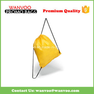 Non Woven Drawstring Polyester Sports Pack pictures & photos