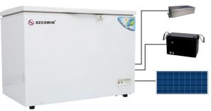 Solar Powered Freezer 230L for Home Use pictures & photos