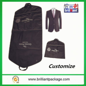 Wholesale Non Woven Foldable Mens Garment Cover Bag with Promotion pictures & photos