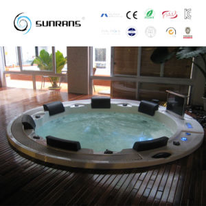 free standing hot tub. Inflatable Hot Tub for Freestanding Round SPA Outdoor Whirlpool Bath China