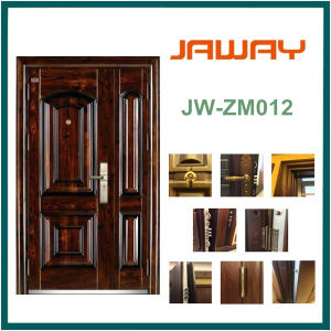 New Design Steel Monther and Son Door in Good Price pictures & photos
