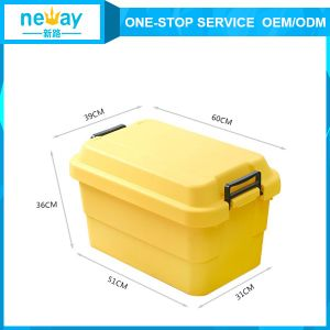 Strong Household Hot Sale Plastic Storage Boxes pictures & photos