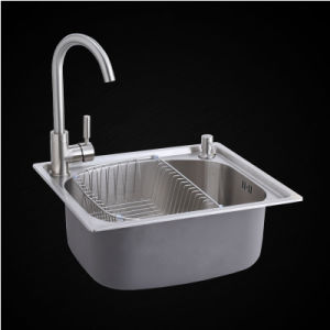 Kitchen Stainless One Piece Forming Sink (4942L) pictures & photos