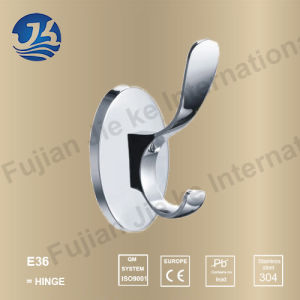 Hot Sell 304 Solid Casting Stainless Steel Bathroom Robe Hanger (E36) pictures & photos