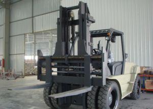 Un 9.0t Diesel Forklift with Original Isuzu Engine with Duplex 5.0m Mast pictures & photos