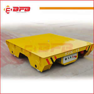 Steel Mill Coil Handling Vehicle with Large Table for Industry Use on Rails pictures & photos