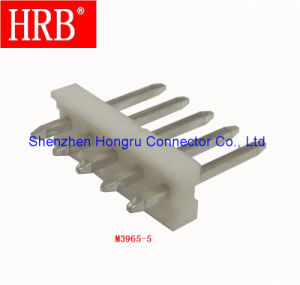 3.96mm Pitch Straight Electronic Connector Pinheader pictures & photos