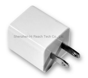 Portable Mini USB Travel Charger Dual USB Phone Charger Wall Charger with Us Plug pictures & photos