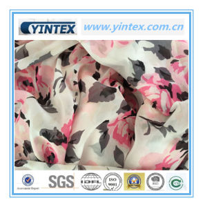 100% Poly Flat Ggt Printed 100d Fabric pictures & photos