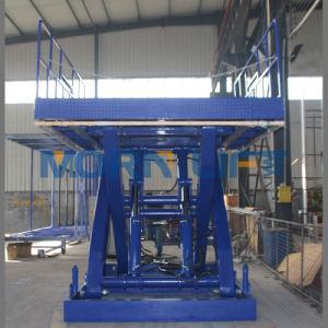 Warehouse Cargo Stationary Scissor Lift pictures & photos