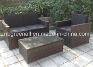 Garden Sofa Wicker Rattan Patio Furniture (GN-9078-4S) pictures & photos