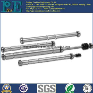 China Supply Custom CNC Machining Solid Shafts pictures & photos