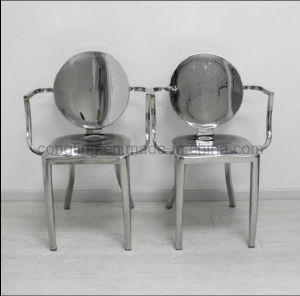 Whole Stainless Steel Contemporary Outdoor Chair/Dining Chair/Chair pictures & photos