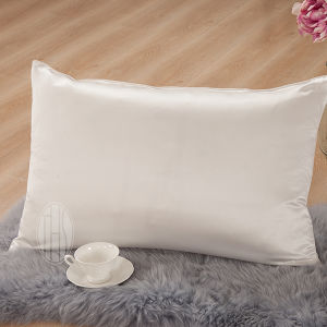 Taihu Snow Silk Pure Dyed China Wholesale Bedroom Silk/Cotton Pillowcase pictures & photos