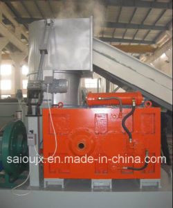 China Supplier Compactor Water Ring Pelletizing Line pictures & photos