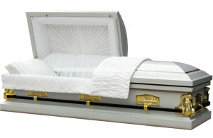Last Supper White Casket of USA Market pictures & photos