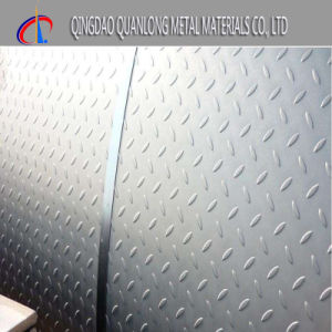 Q235 Tear Drop Hr Iron Steel Mild Chequered Plate pictures & photos