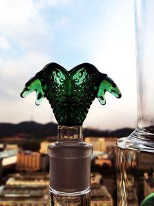 Green Ball Perc Smoking Pipe Enjoylife Hbking Glass Water Piper Rockect Inline Perc Borosilicate Smoking Pipe pictures & photos
