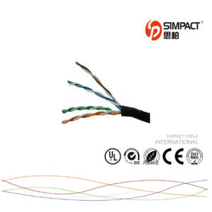UL / CE/ RoHS Cetificated Cat5e Outdoor Cable pictures & photos