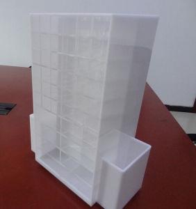 White/Black/ White 72 Lipstick Acrylic display Rack Shelf pictures & photos