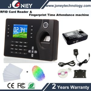 Low Cost Biometric Fingerprint Time Attendance System with RFID Card Reader, SD Card Slot pictures & photos