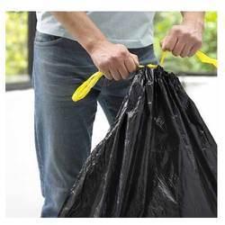 PE Material Draw Tape Garbage Bags