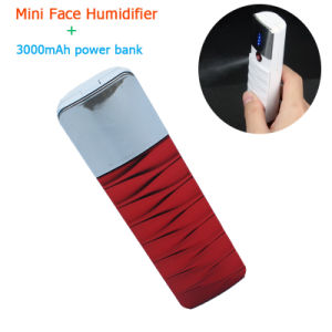 Face Humidifier 3000mAh Mobile Portable Powerbank pictures & photos