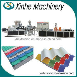 Customized PVC Roof Tile Plastic Extrusion Making Machine Production Line