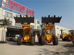Hot Sale 16tons Wheel Loader with Fork and Bucket pictures & photos