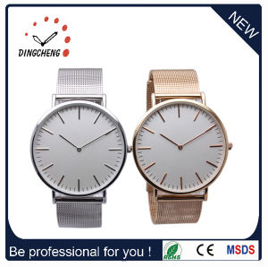 Dw Style Fashion Stainless Steel Couple Quartz Watch pictures & photos