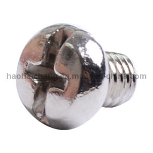 Electronical Stainless Steel Pan Head Cross M3 Welding Screw pictures & photos