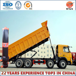 Dump Truck Hydraulic Cylinder with Outer Cover pictures & photos