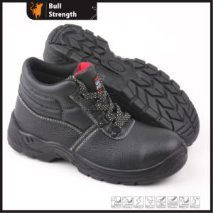 Industrial Leather Safety Shoes with Steel Toe and Steel Midsole (SN5324) pictures & photos
