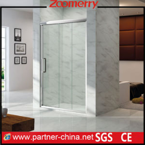 Project Adjustable for Installation 8mm Thick Glass Screen for in Shower (NM6132) pictures & photos