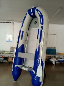 320cm Folding Inflatable PVC Boat pictures & photos